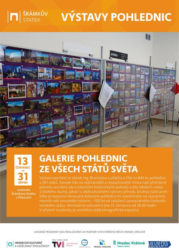 Výstava pohlednic